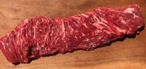 BEEF- Flap Meat Organic Grass Fed $12.25/lbs (10lbs Average)