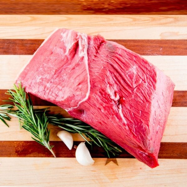 BEEF- Outside Round Flat Organic Grass Fed