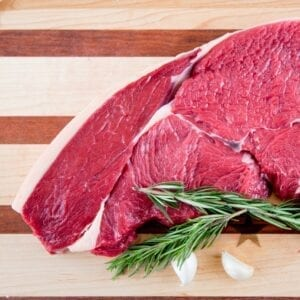 BEEF- Top Sirloin Organic Grass Fed
