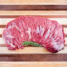 BEEF- Peeled Outside Skirt Steak Organic Grass Fed $11.25/lb (10lbs Average)