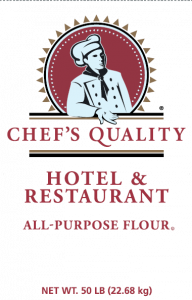 FLOUR- All Purpose Hotel & Restaurant Chef's Quality 25lbs Bag
