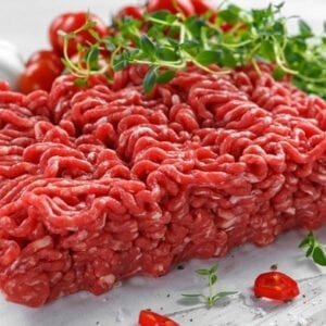Ground Beef Organic Grass Fed LA Foodservice Wholesale Free Next Day Delivery