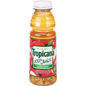 APPLEJUICE- Tropicana Seasons Best 12 / 15 oz Bottles