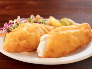 COD- Beer Battered Portions Highliner Frozen $8.52/lbs (5lbs Box)