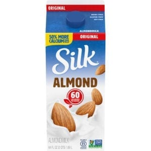 ALMOND MILK- Original Silk Fresh Refrigerated 64oz