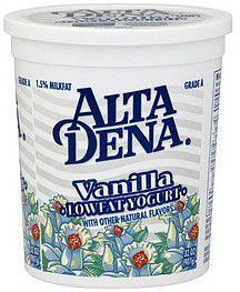 YOGURT-Vanilla Low Fat Alta Dena 32oz