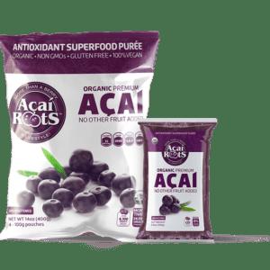 ACAI- Roots Puree Pack Organic Frozen 3.5oz