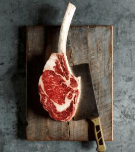 WAGYU- Tomahawk Steak Australian Blue Label 2llbs