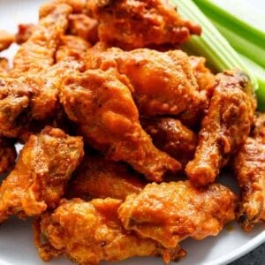 WINGS- Chicken Wings Breaded Cooked Hot