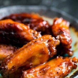 CHICKEN- Wings Fully Cooked Fire Glazed 1st & 2nd Joint, 130-170ct Frozen Tyson 10lbs