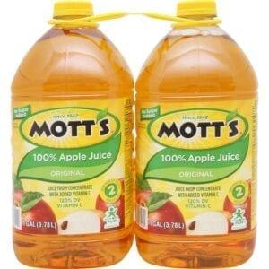 Mott's Apple Juice - 2/128 oz bottles
