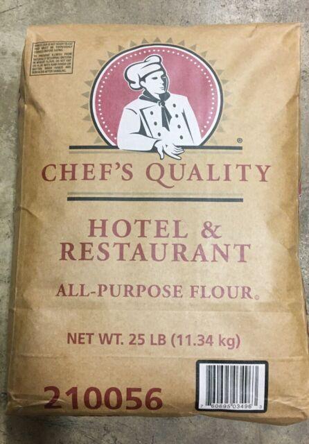 FLOUR- All Purpose Hotel & Restaurant Chef's Quality 25lbs